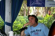 Rick from CHUM FM in Barbados