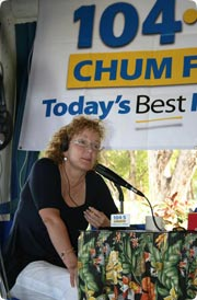Marilyn from CHUM FM