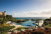 Pools at the Crane Resort in Barbados