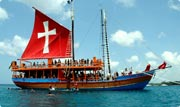 Have Fun on Barbados Black Pearl Party Cruises - Jolly Roger 1