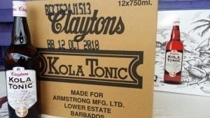 Claytons Kola Tonic is Made in Barbados.