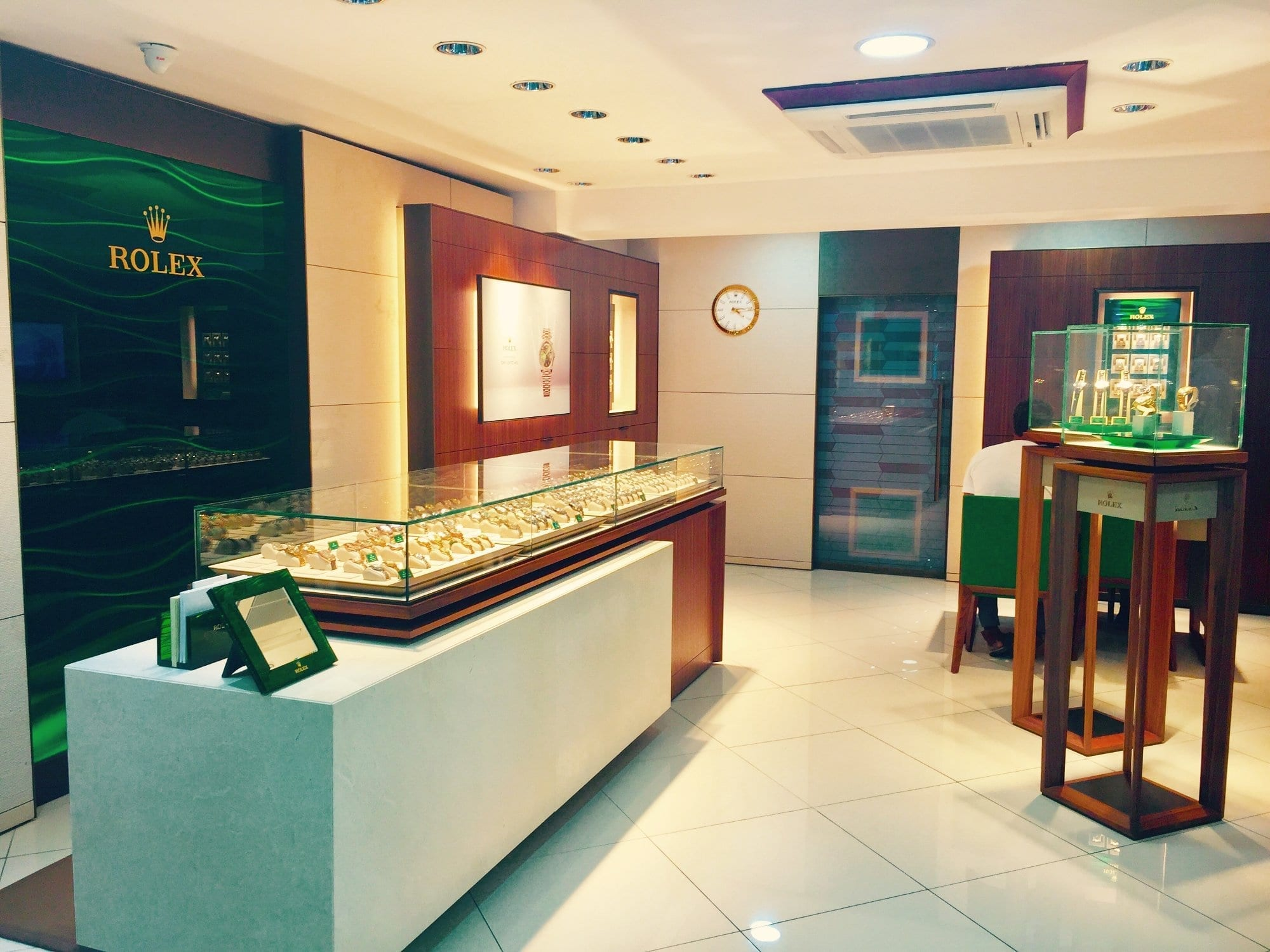Rolex Available at the Royal Shop in Barbados.