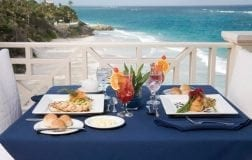 L'Azure Restaurant at The Crane Residential Resort