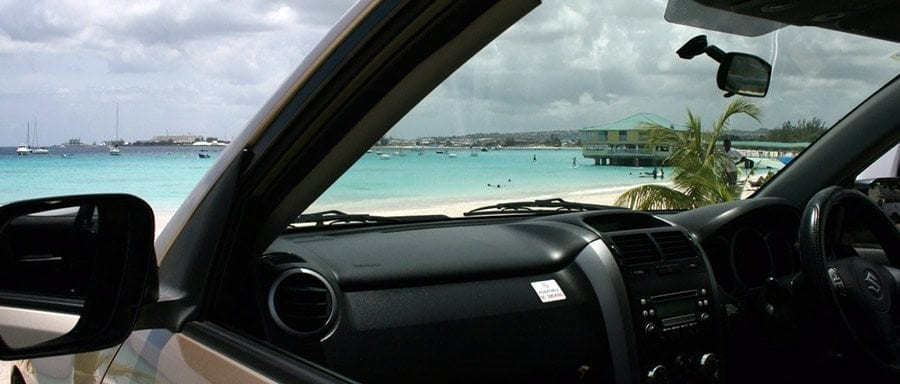 Enjoy Barbados in the luxury of a Grand Vitara from Bajan Car Rentals.
