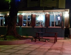 Enjoy the casual outdoor seating at Blakey's on the boa