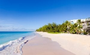 Maxwell Beach - the beautiful 1/4 mile of white sand beach on which Bougainvillea Beach Resort sits.