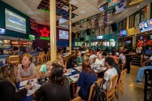 Live Sports Entertainment at Bubba's Sports Bar.