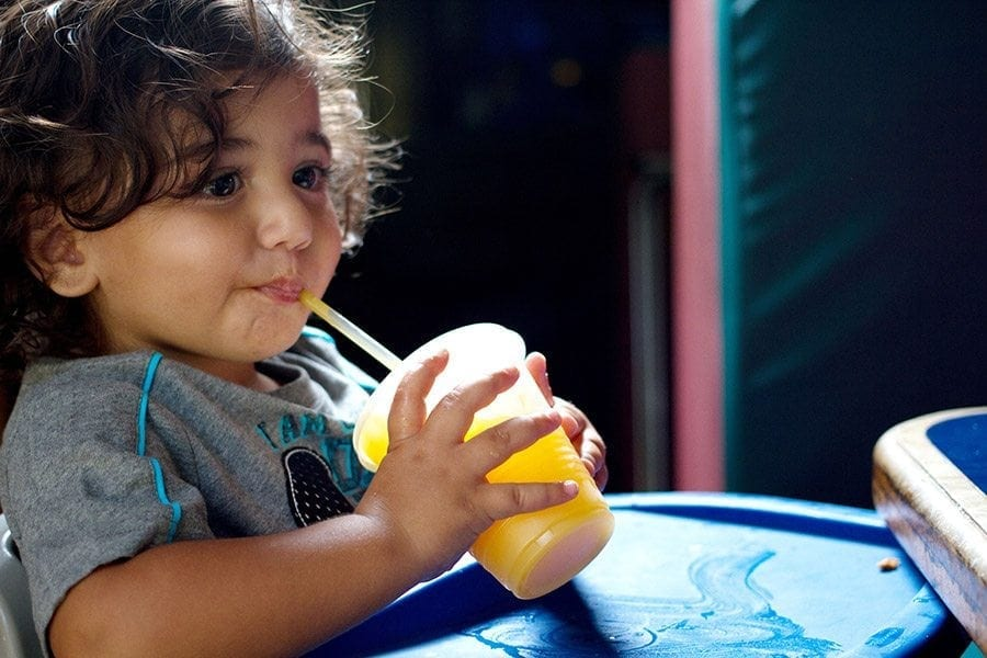 Kids Meals & nutritious beverages served at Bubba's Sports Bar.