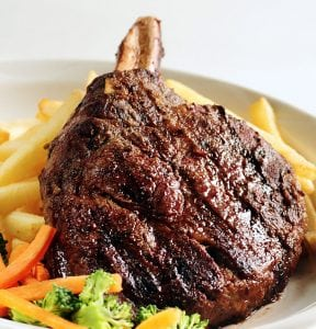Bubba's Sports Bar & Restaurant for more choice steaks, burgers, chicken & 'catch of the day' entrees.