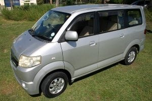 Going on a family vacation? This 7-seater APV is provides a great deal of space and comfort.