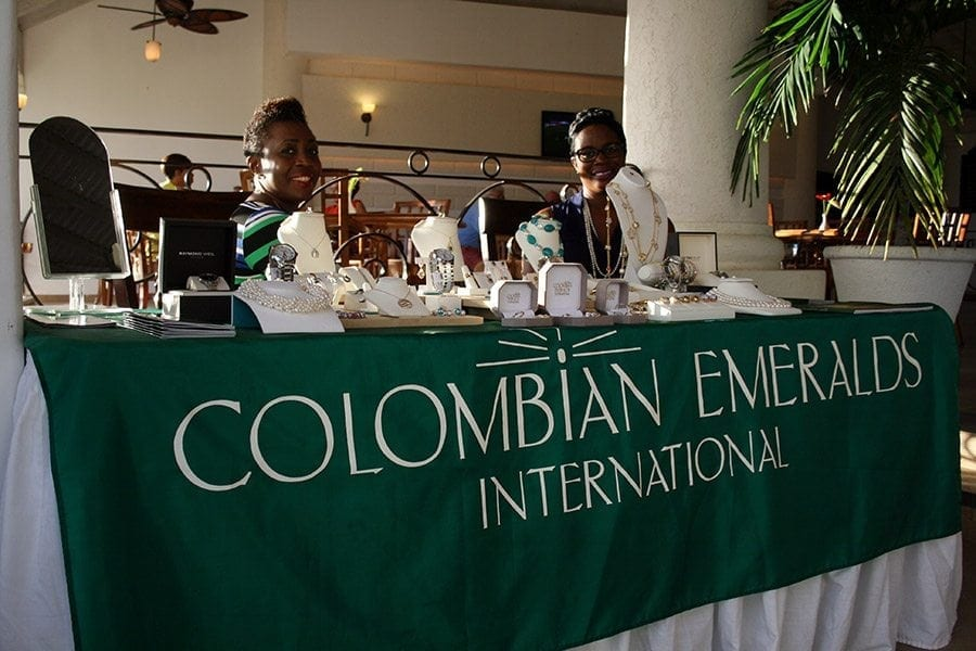 Go shopping in Barbados at Colombian Emeralds International.