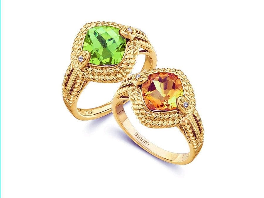 Rings available  for purchase in Barbados at Colombian Emeralds International.