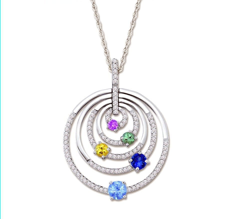 Dutyfree Necklace and Pendants in Barbados Colombian Emeralds International.