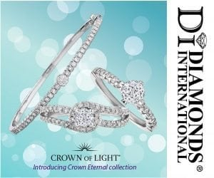 Introducing Crown of Light - Crown Eternal Collection in Barbados at Diamonds International.