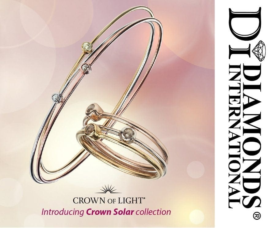 Introducing Crown of Light - Crown Solar collection at Diamonds International Barbados.
