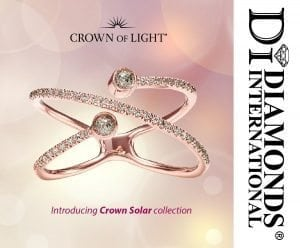 Introducing Crown Solar collection at Diamonds International Barbados.