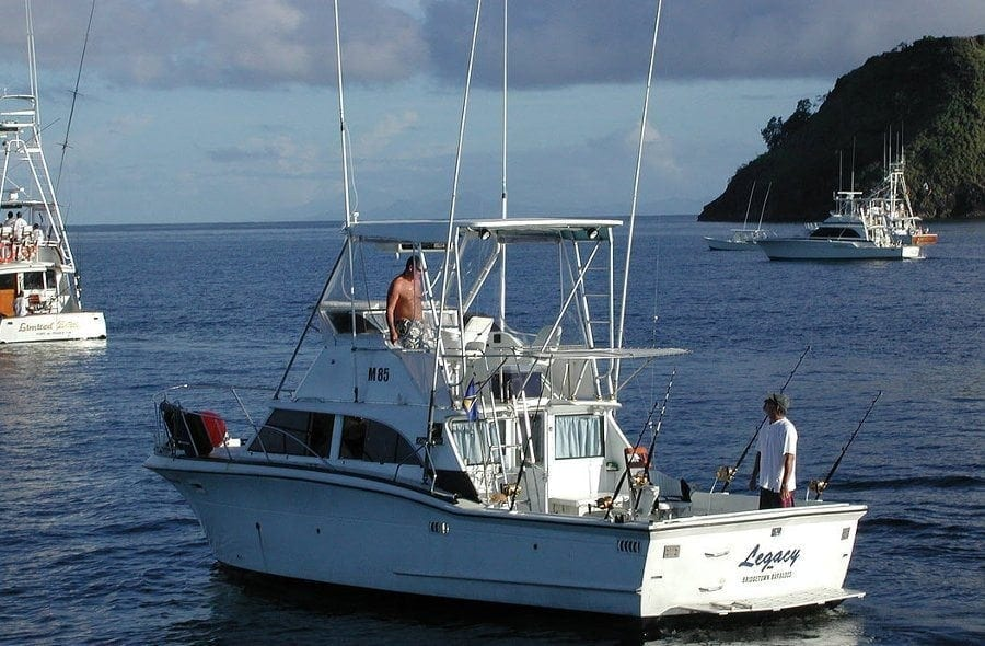 Legacy fishing charters totally barbados for Fishing charters cleveland ohio
