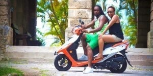 Take a tour of Barbados on a Scooter rental from Paradise Scooter Rentals Barbados.