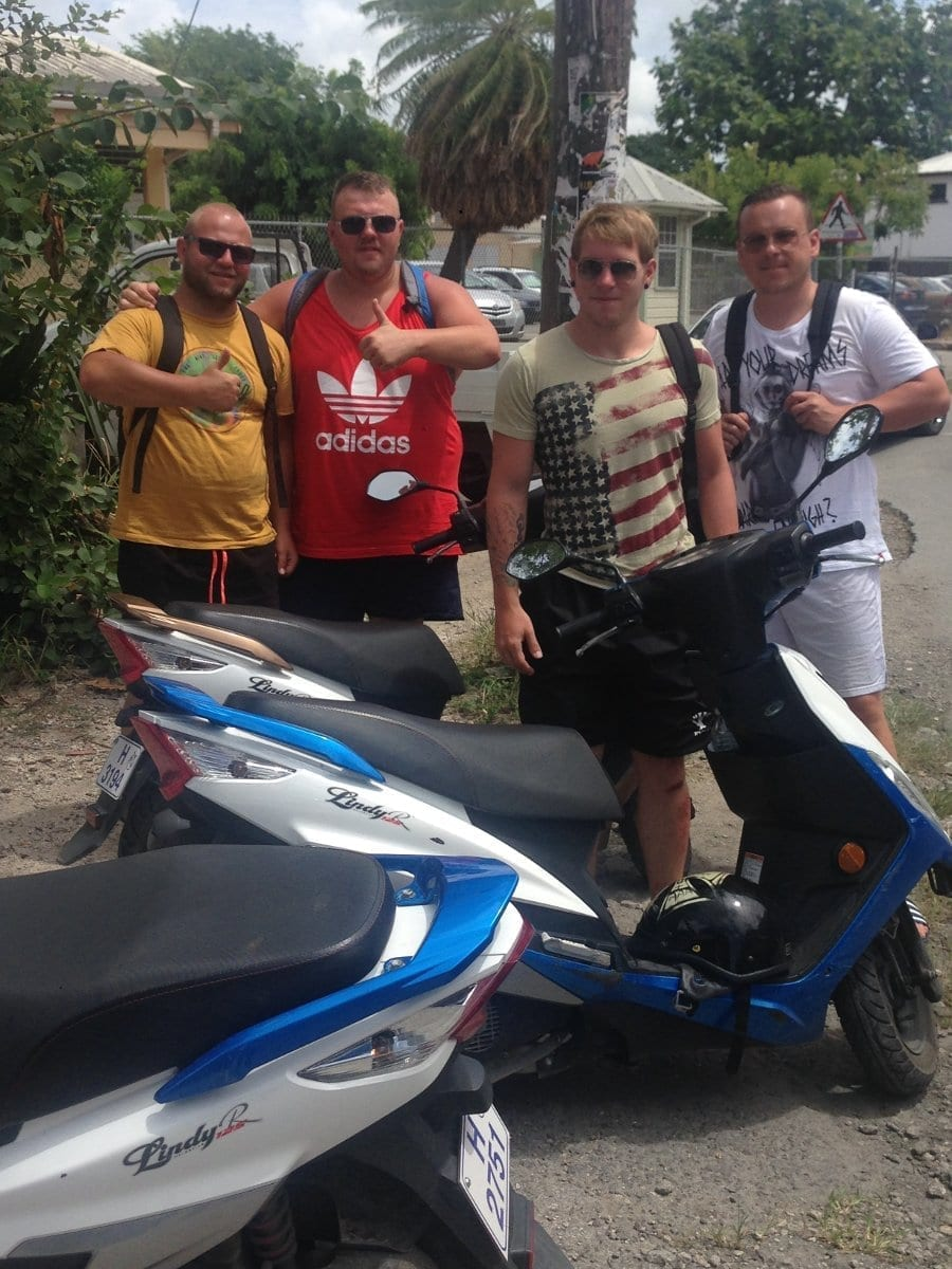Alexander, Arthur, Phillip, Nikola - Everyone enjoyed going from location to location and are eager to do it again.