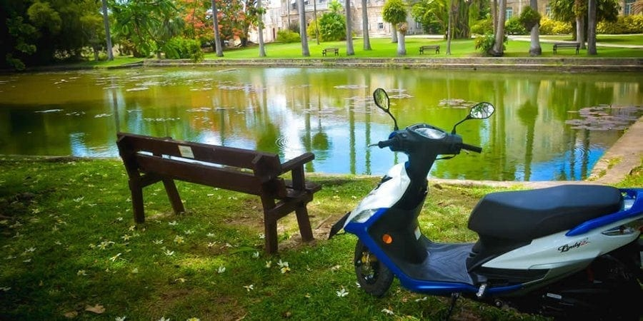 Sightseeing in Barbados with Paradise Scooter Rentals