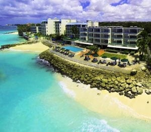 Stay beach side in Barbados at Rostrevor Hotel.