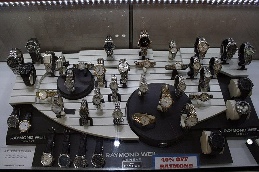 Top Quality Watches available at duty free prices in Barbados.