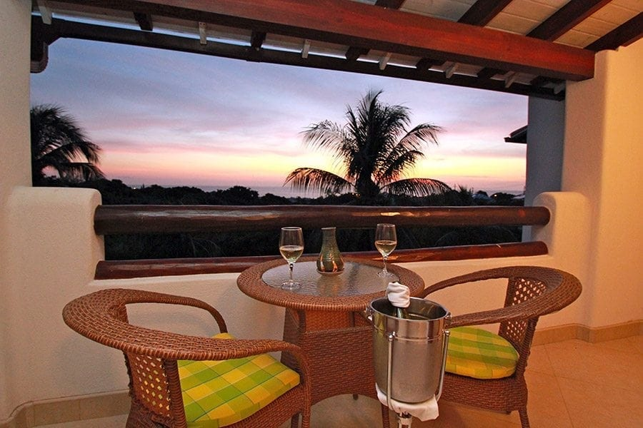 Romantic Sunsets in Barbados at Sugar Cane Club Hotel and Spa.