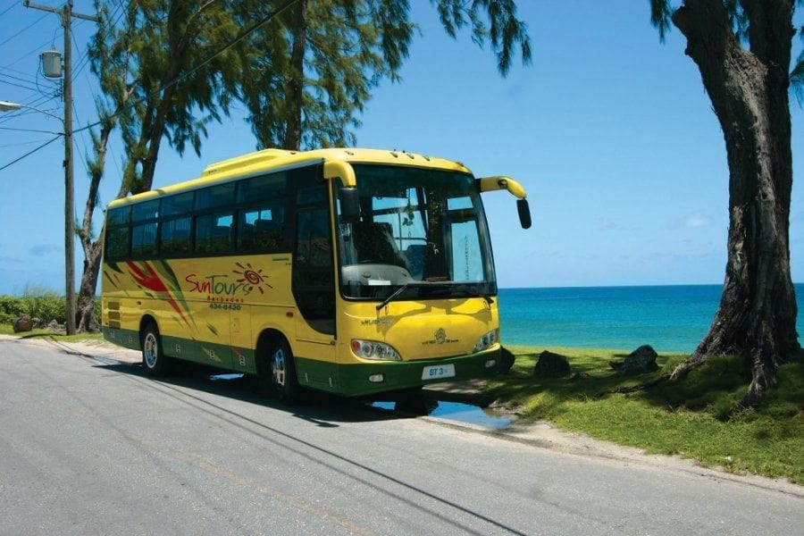 Tour Barbados island in the comforts of SunTours Barbados.