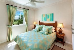 Bedroom of a home at Vuemont Barbados Real Estate Properties.