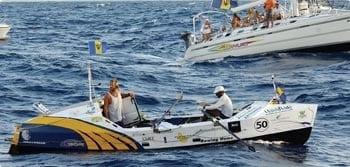 Meet a Bajan - Phil Als and Randal Valdez on Boat