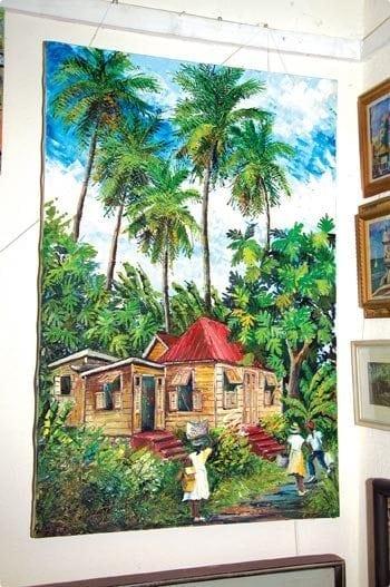 Meet a Bajan - Fine Art of Fielding Babb