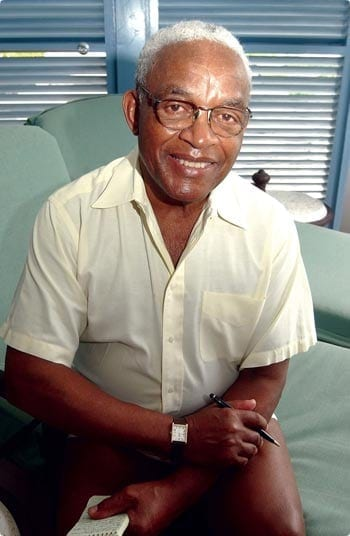 Irving Burgie, also known as Lord Burgess, is the songwriter and composer who wrote the lyrics for the national anthem of Barbados.