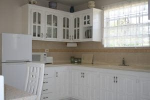 Well-equipped dining kitchen - Miri-Joy Apartments Barbados.