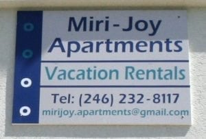 Miri-Joy Apartments are family owned accommodation in St. Peter Barbados.