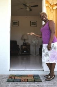 With a bright Barbadian smile, your host Pauline warmly welcomes you to your Miri-Joy Apartment.