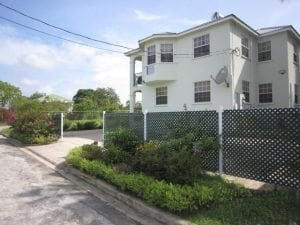 Convenient off-road parking - Miri-Joy Apartments Barbados.