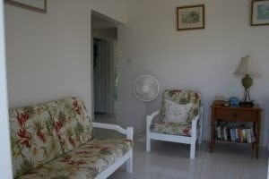 Restful sitting area - Miri-Joy Apartments Barbados.