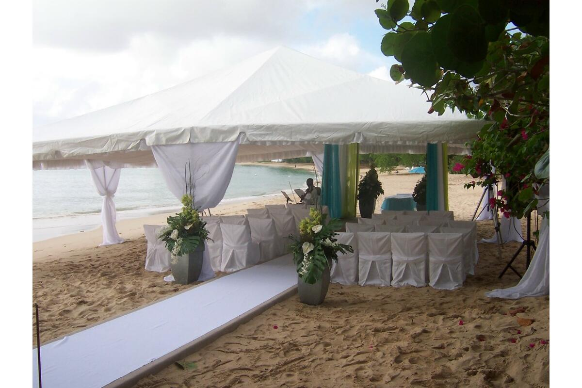 Barbados Weddings…beyond your imagination beach wedding setting.