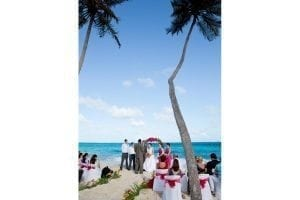 "Say ""I do"" on a beautiful exotic Barbados beach surrounded by your closest friends and family members."