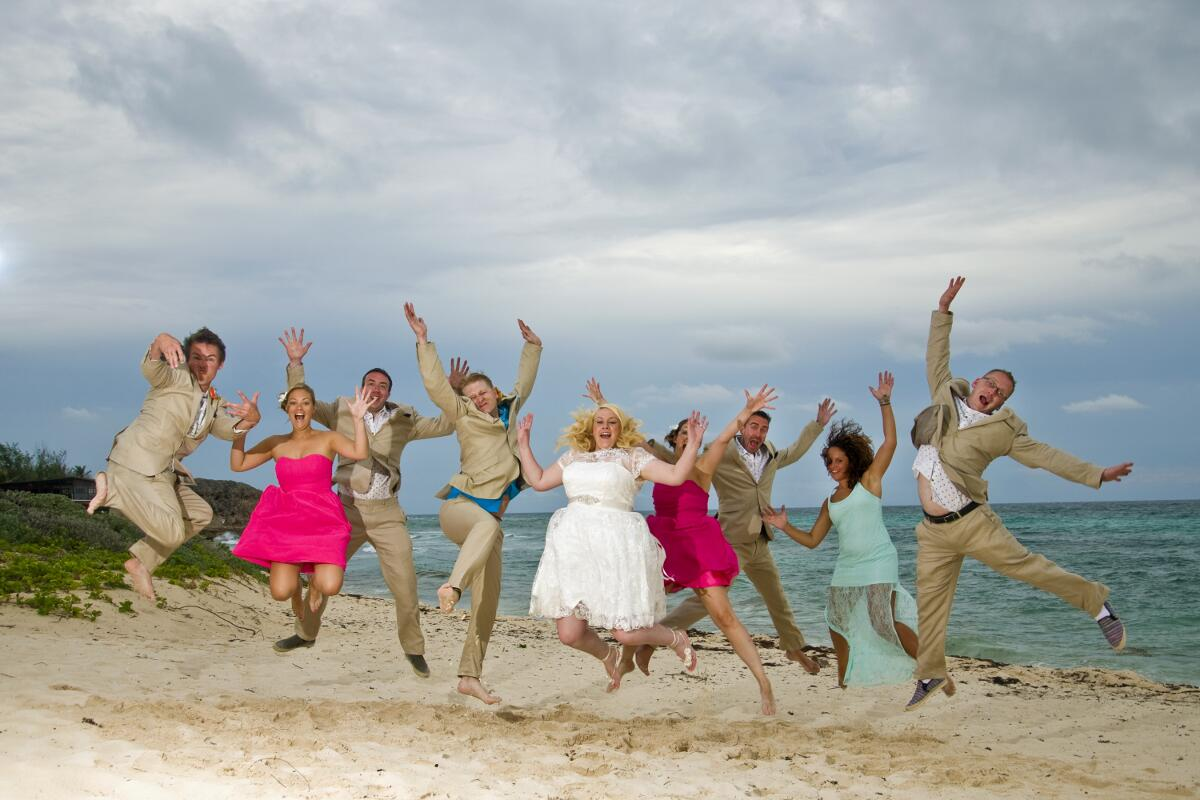 Jump for joy and celebrate your Barbados beach wedding with Barbados Weddings…beyond your imagination!!