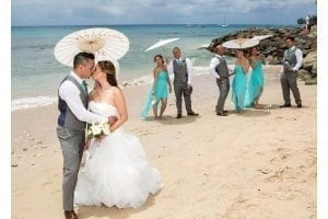 A beautiful Barbados beach is the perfect stage for your wedding in paradise.