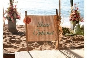 "With Barbados Weddings…beyond your imagination ""beach weddings to go"", shoes are always optional."