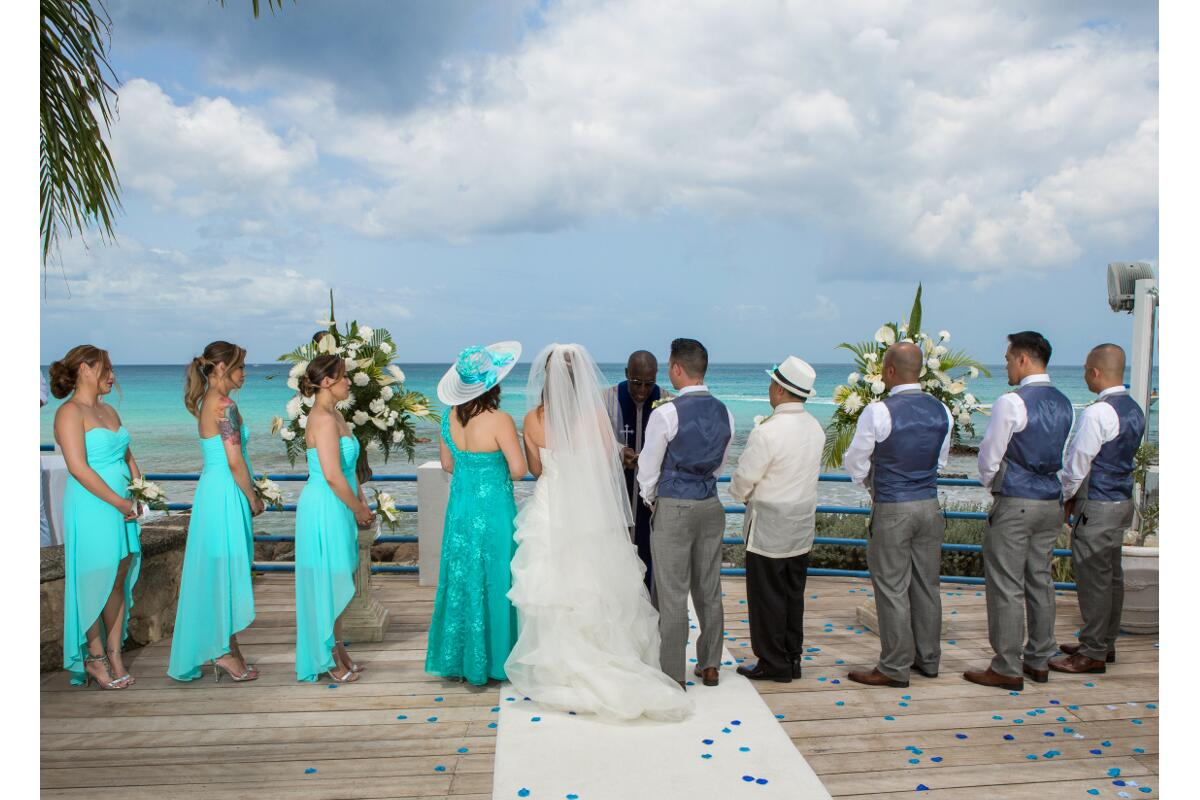 "Say ""I do"" in exotic Barbados surrounded by your closest friends and family members."