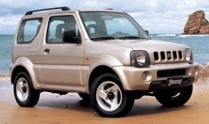 Hire a Jimny from Direct Car Rentals Barbados.