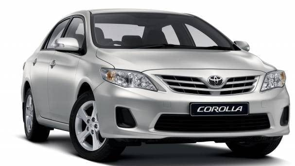 Toyota Corolla Cars available for rental by Direct Car Rentals.