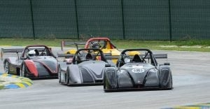 Radical Action at Bushy Park Racing Circuit in Barbados.