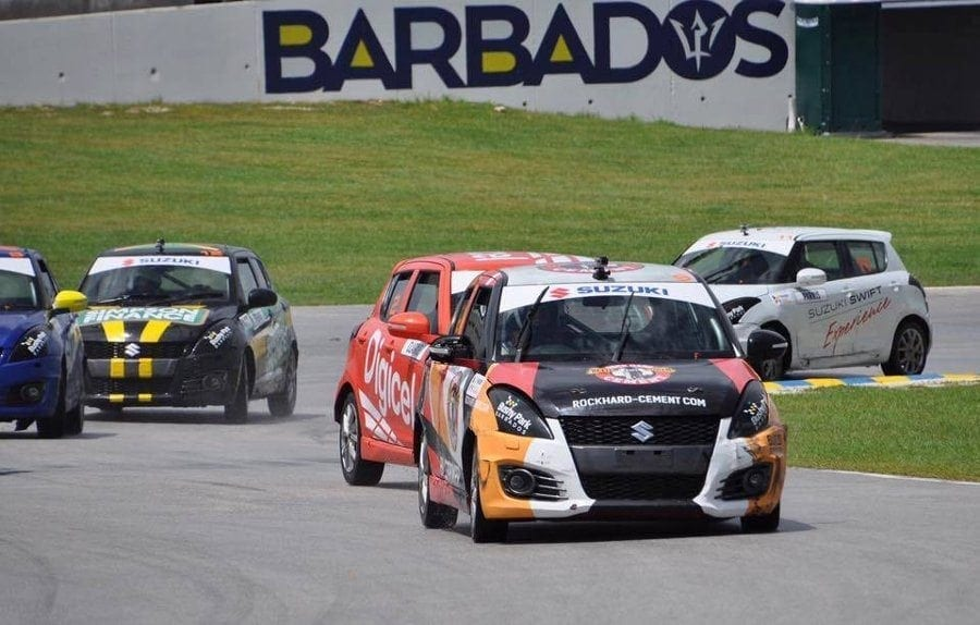 Swift Action Racing at Bushy Park Barbados.