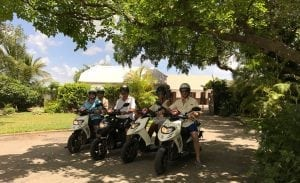 Tour Barbados on an Island Scooter.