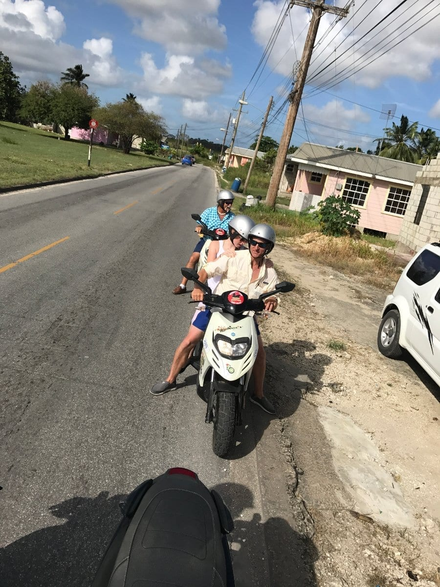 Easy Way to Get Around Barbados - rent from Island Scooters Barbados.