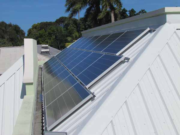 Solar panels from Solar Energy Innovations Barbados.